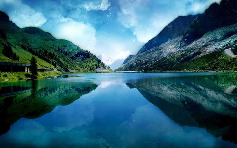 vattendrag-högt-i-bergen