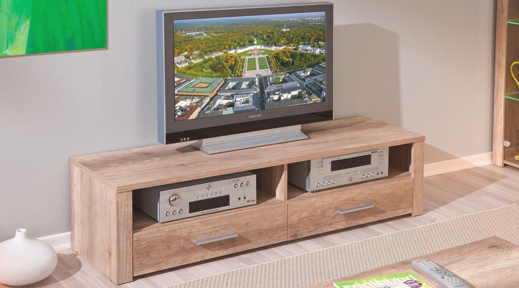 TV-bänk-6---liten-i-trä