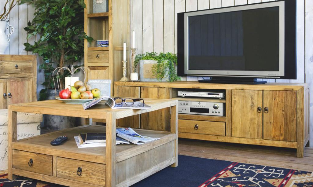 tv-bänk-5-trä-antikt